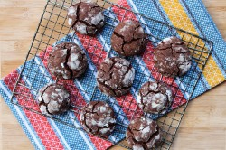 Chocolate Chai Crackle Cookies Recipe