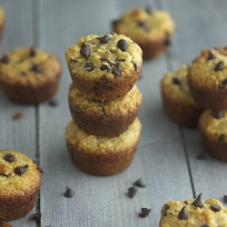 Chocolate Chip Mini Muffins Paleo Recipe
