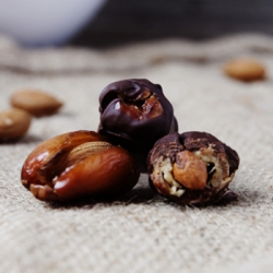 Chocolate Covered Almond Stuffed Dates Recipe
