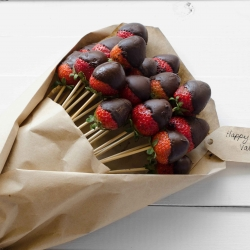 Chocolate Dipped Strawberry Bouquet