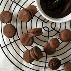 Chocolate Filled Gluten-Free Cookie