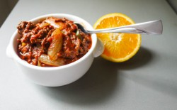Chocolate Ginger Orange Chili