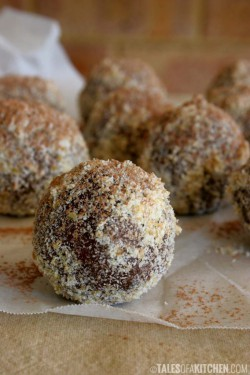 Chocolate Orange Fudge Balls Recipe