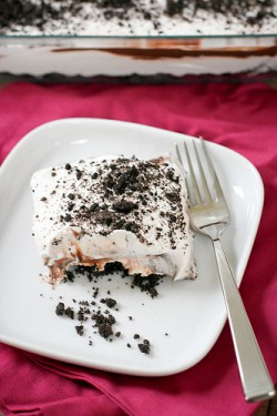 Chocolate Oreo Lasagna