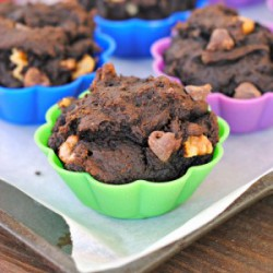 Chocolate Pumpkin Nut Muffins