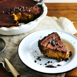 Chocolate Pumpkin Pie Recipe