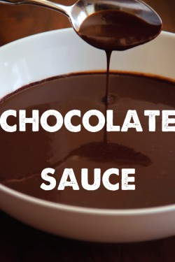 Chocolate Sauce Recipe
