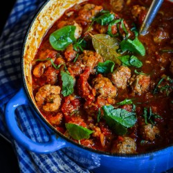 Chunky Pork and Sage Meatballs