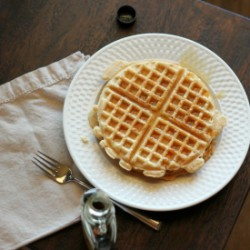 Coconut and Vanilla Bean Waffles