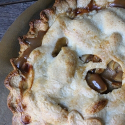 Coconut Dulce de Leche Apple Pie Recipe