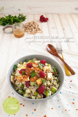 Couscous Salad with Halloumi
