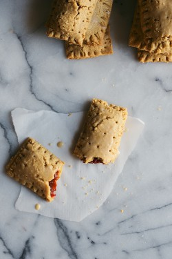 Cranberry and Orange Pop Tarts with Ginger Glaze Recipe