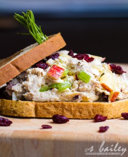 Cranberry Apple Chicken Salad
