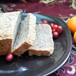 Cranberry Clementine Christmas Loaf