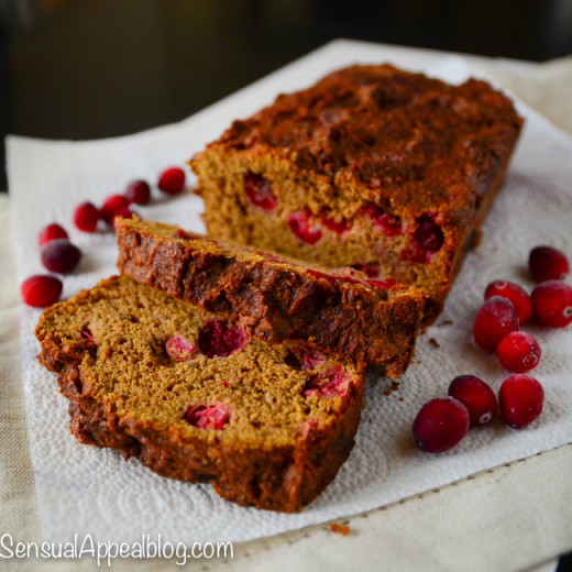 Cranberry Pumpkin Bread Recipe