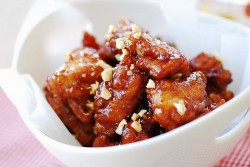 Dakgangjeong Sweet Crispy Chicken