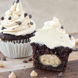 Double Chocolate Banana Cupcakes