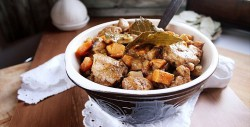 Dried Plum and Sweet Potato Pork Stew Recipe