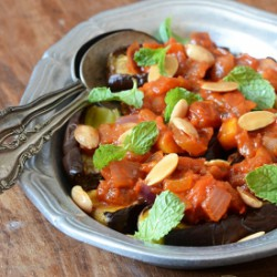 Eggplant with Tomato Compote