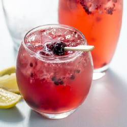 Elderflower Berry Collins