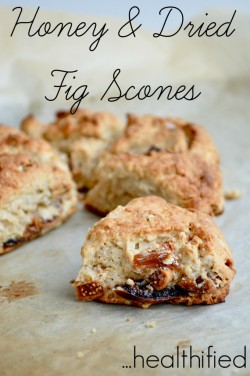 Fig and Honey Scones Recipe
