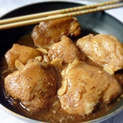 Filipino Chicken Thigh Adobo Recipe