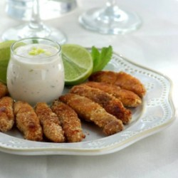 Fish Sticks with Tartar Sauce