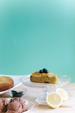 Flourless Lemon Upside Down Cake