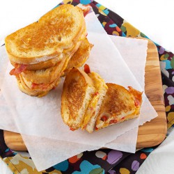 Four-Cheese Grilled Pimento Cheese