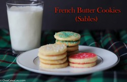 French Butter Cookies Recipe