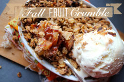 Fruit Crisp with Oat Almond Topping Recipe