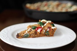 Fruitcake Chocolate Chip Skillet Cookie Recipe