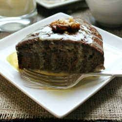 Gingerbread Cake with Spiced Rum Creme Anglaise Recipe