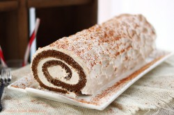 Gingerbread Roll Cake Recipe
