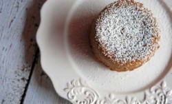 Gingerbread White Chocolate Cakes Recipe