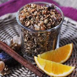 Gingersnap Granola Recipe