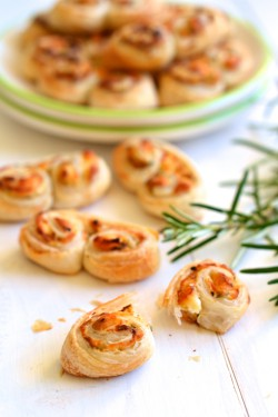 Goat Cheese Palmiers