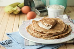 Grain Free Crepes with Banana Cream