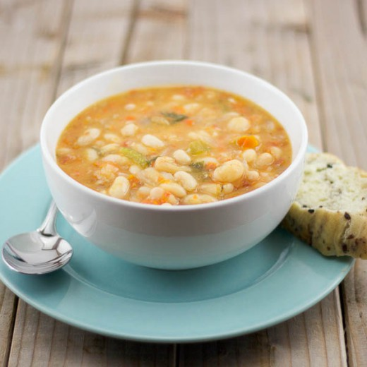 Greek Bean Soup Recipe