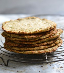 Green and grain free flatbreads