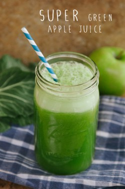 Green Apple Juice Recipe