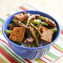 Green Beans with Black Bean Sauce