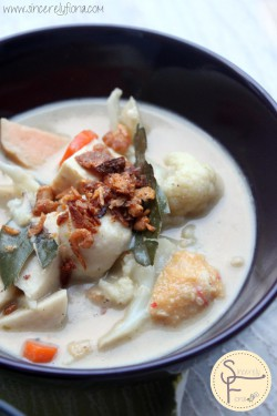 Green Curry with Laksa Fusion Style