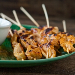 Grilled Chicken Satays
