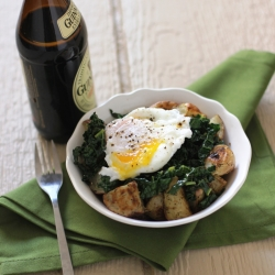 Guinness Braised Kale