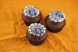 Halloween Spiderweb Cupcakes Recipe