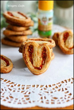 Ham and Pepper Breakfast Palmiers Recipe