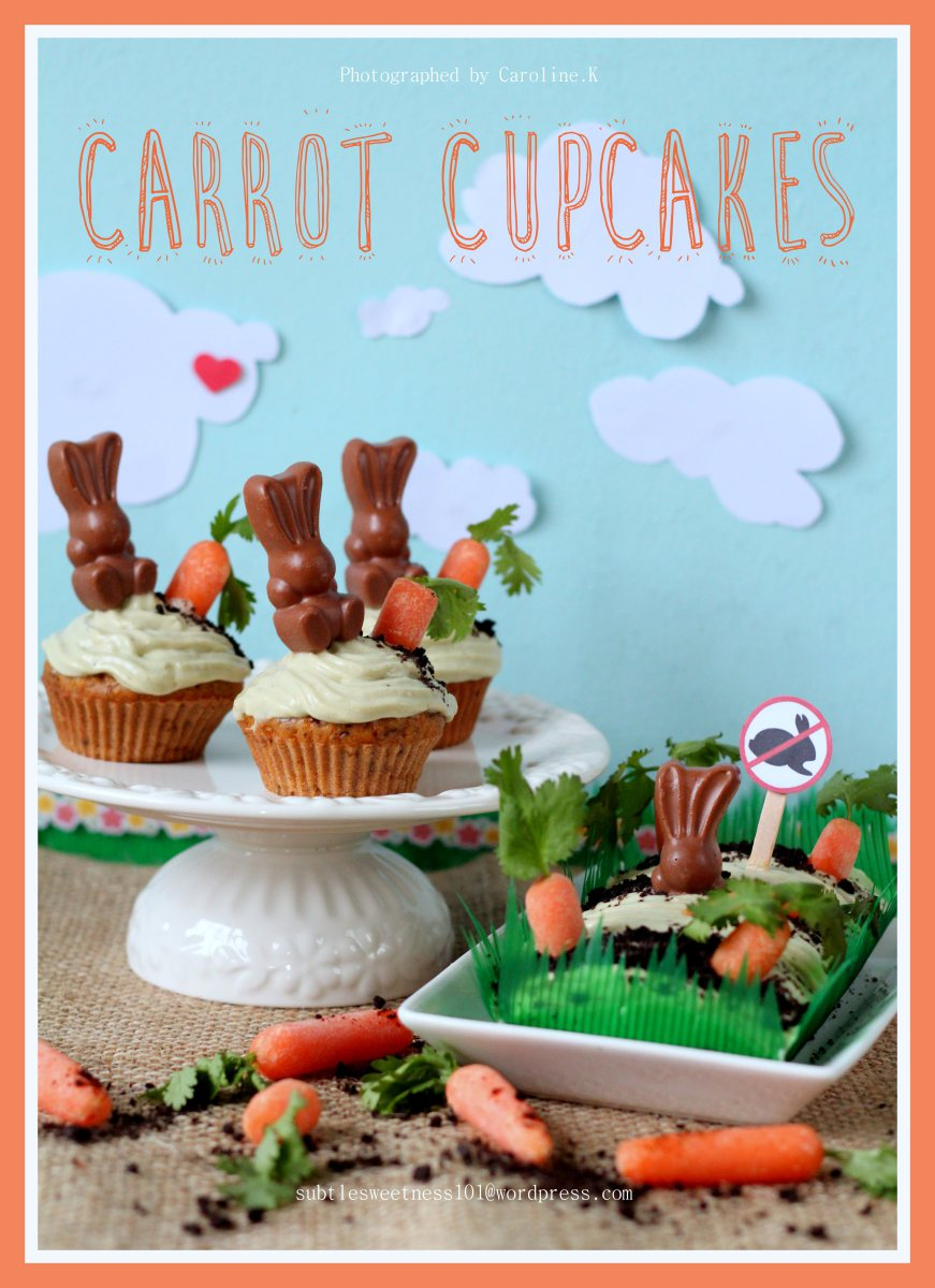 Healthy Carrot Cupcakes