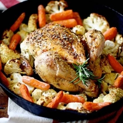 Herbs de Provence Roasted Chicken Recipe