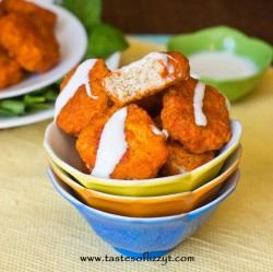 Homemade Buffalo Chicken Nuggets
